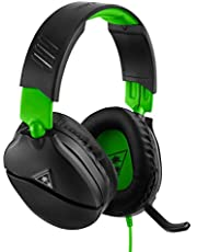 Turtle Beach Recon 70X Gaming Headset for Xbox One, PS4, Nintendo Switch, & PC (Black/Green)