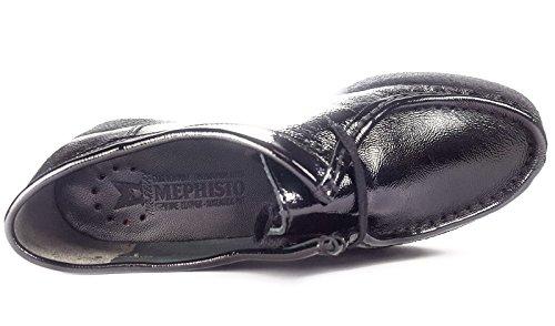 Ville Semelle Femme Mephisto Amovible Noir Non derbies De Chaussures Christy BHffxang