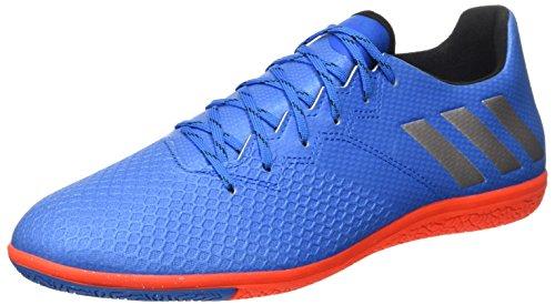 adidas Messi 16.3 In, Botas de Fútbol para Hombre Azul (Azuimp / Plamat / Negbas)