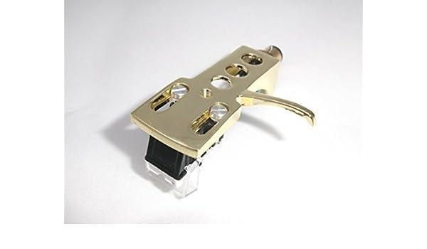 Chapado en oro Headshell soporte de cartuchos MM para Reloop RP ...