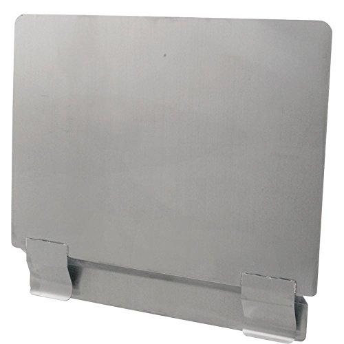 Franklin Machine - FMP Stainless Steel Universal Fryer Splash Guard - 17 3/4 W x 20 1/2 H