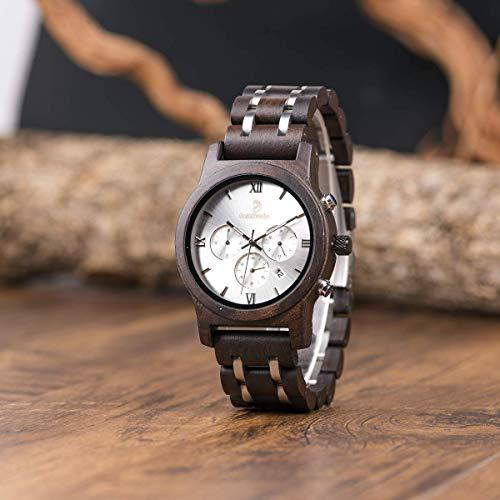 Aus Original Und Stahl Herren Für Holz Pasionara Unikat Armbanduhr 08nOkwPX