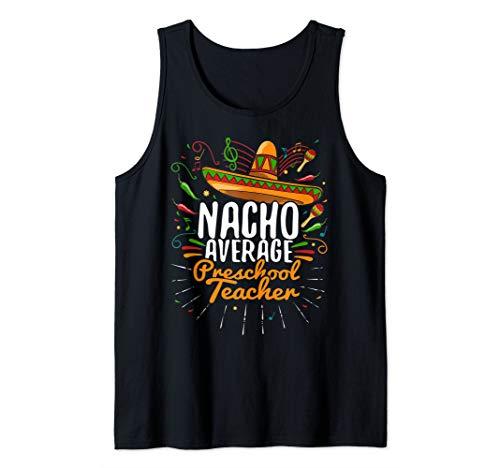 Cinco de Mayo Preschool Teacher Matching Gift Tank Top (Preschool Lesson Plans For Cinco De Mayo)