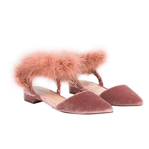 Parfois Fur Detail Shoes | Online Exclusive - Women Nude ECipky6