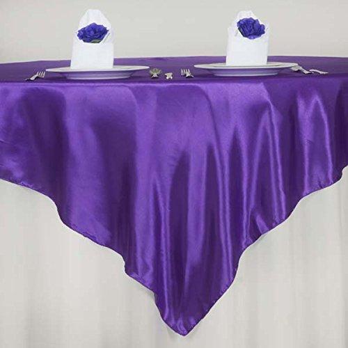 Dark Purple Satin - Efavormart 5pcs 72