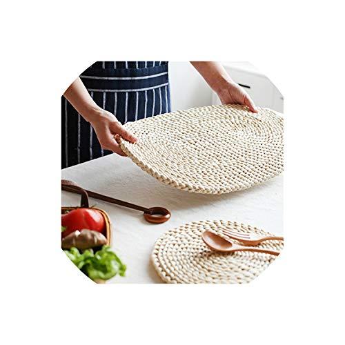 Amazon Com Corn Fur Woven Dining Table Mat Heat Insulation Pot