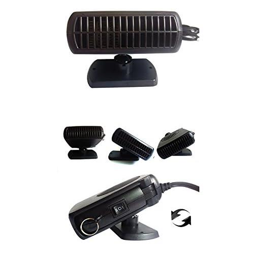 Dégivreur et chauffage Vinmax en céramique portable avec ventilateur chauffant, prise 12V de voiture