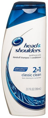 Head And Shoulders 2 In 1 Dandruff Shampoo And Conditioner Classic Clean 237 Ounce Bottle