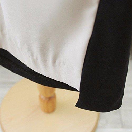 Imprime Sans Manches En Dentelle Col Rond Polyster Decontractee Femmes Robes De Taille Mince