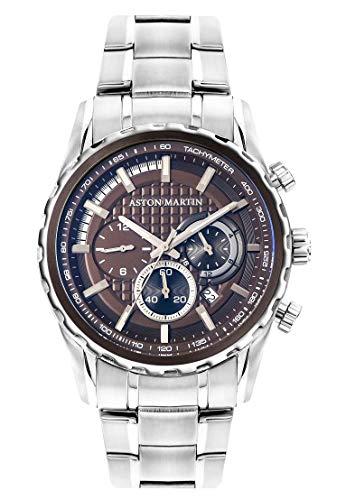 Aston Martin AS404-27 Chronograph Men's Watches - Steel Watch Stainless Aston
