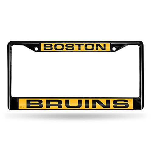 Rico Boston Bruins Official NHL 12 inch x 6 inch Metal License Plate Frame by Rico