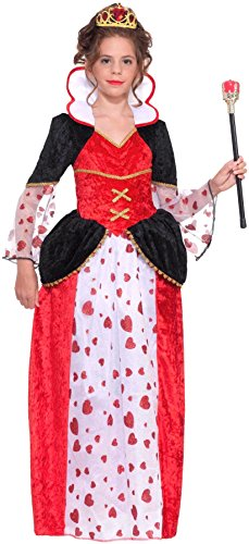 [Forum Novelties Queen of Hearts Costume, Large] (Girl Mad Hatter)