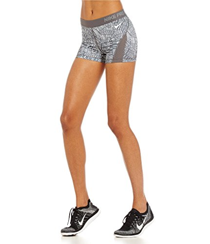 Nike Pro 3 Hypercool Tidal Multi Womens Shorts - Dark Grey/Cool 725453 021 Small by NIKE