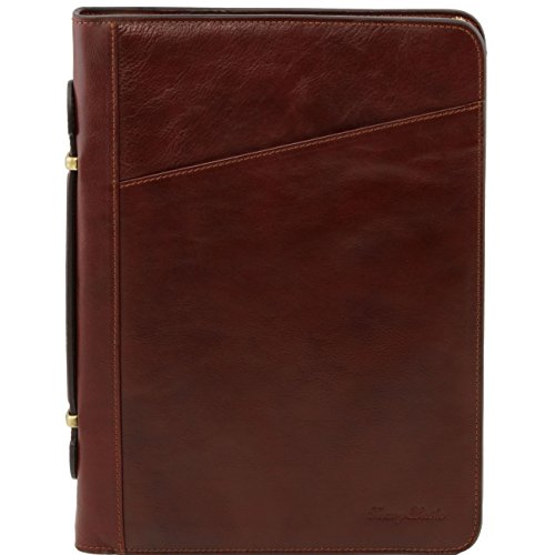 Tuscany Leather Costanzo - Exclusive Leather Portfolio Brown