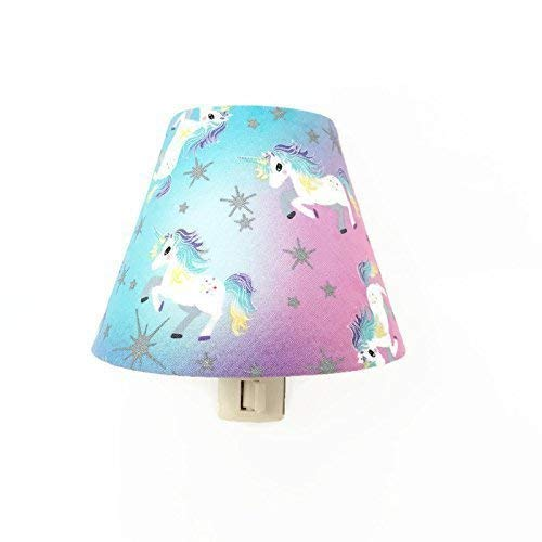 Amazon Com Unicorn Night Light Big Girls Bedroom Nightlight Girls Room Decor Aqua Blue Purple Pink Silver Handmade
