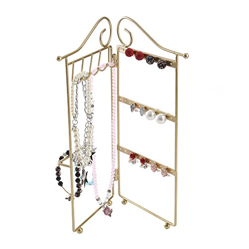This is a really good stand for keeping your jewelry organized