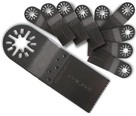 """Dremel Multi-Max Compatible 3 x 1-1//4/"""" Fine Tooth Oscillating Tool Blades"""
