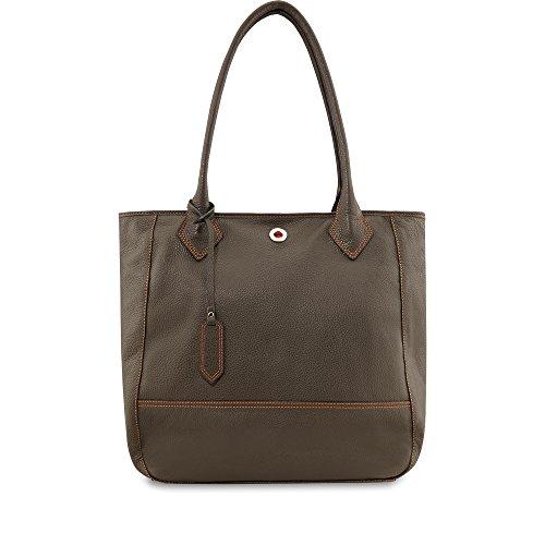 Picard Damen Shopper Tasche Dakota 4176 Leder taupe