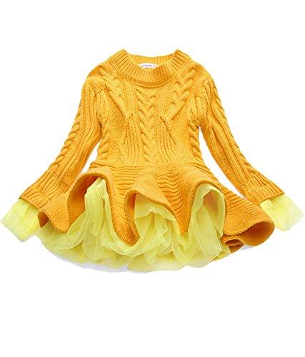 Yellow Kids Sweater - 5