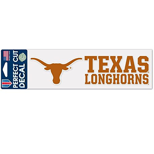 (Wincraft NCAA University of Texas WCR37297014 Perfect Cut Decals, 3