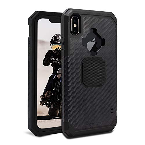 Rokform Rugged [iPhone XS MAX] Military Grade Magnetic Protective Case with Twist Lock - Black