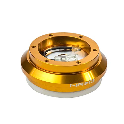 - NRG SRK-130H-RG Rose Gold Anodized 6-Hole Racing Steering Wheel Short Hub Adapter for 97-03 Acura CL/ 96-00 Civic/94-14 Accord/ 97-01 Prelude (NOT Fit Thin Version Quick Release)
