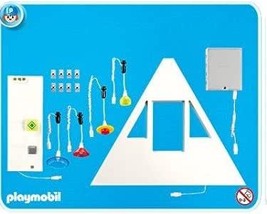 PLAYMOBIL 7390 Casa Nueva, iluminación Conjunto básico: Amazon.es: Juguetes y juegos