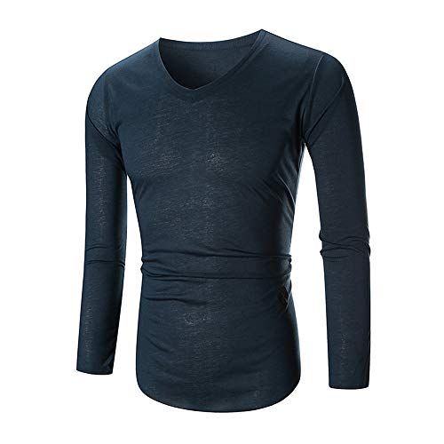 (Simayixx Shirt for Men, Fit Muscle Tee T-Shirt Sport Jogging Sweatshirts Plus Size Outdoor Pullover Tunic Tops Basic Blouses)