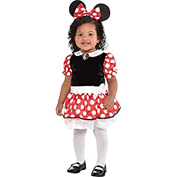 Suit Yourself Red Minnie Mouse Halloween Costume for Babies, 12-24 M, Includes Accessories