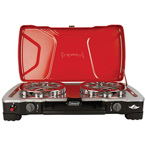 collapsible propane camping stove - 9