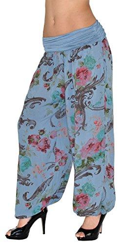 Dames Pantalon de Sarouel Pantalons Lointain Harem Pump pour Femme Pantalon Yoga S13 Femme S12 pour bleu Pantalon zwPvYdq
