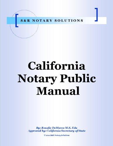 Download California Notary Public Course Pdf Ebook