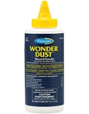 Farnam Wonder Dust Wound Powder for Horses and Show Stock, 4 oz, White (086621311015)