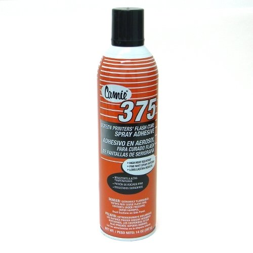 Camie 375 Flash Cure Spray Adhesive-1 Can