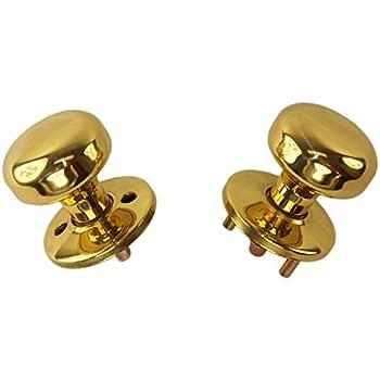 Tuff Stuff 3004 Polished Brass Us3 Interior Exterior Knob