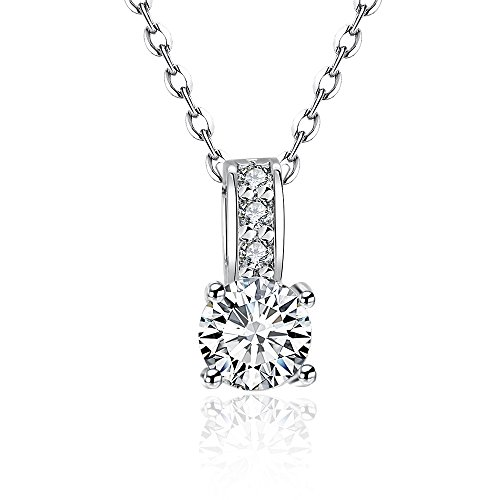SDLM Popular Shining White Diamond With Ring Unique Chain Pendant - A How Make Costume Police To