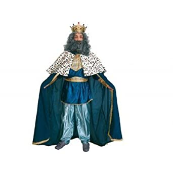 Disfraz de Rey Mago (azul): Amazon.es: Ropa y accesorios