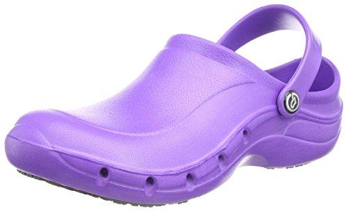 Toffeln Eziklog Unisex-Erwachsene Sicherheitsschuhe, Weiß, 37 EU / 4 UK Violett (Violett)