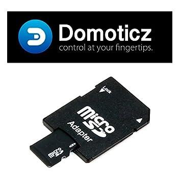 Tarjeta micro SD (8 GB, adaptador incluido) con Domoticz ...