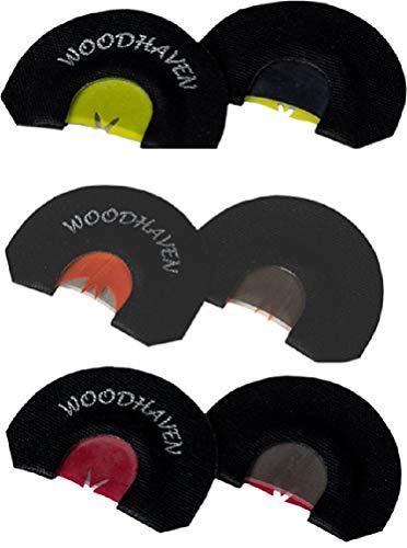 Woodhaven Black Death Diaphragm Turkey Call - 3 Pack