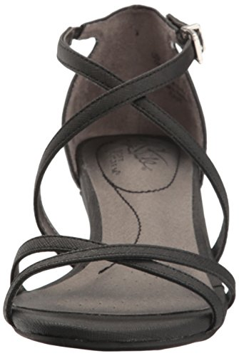 LifeStride Women's Flaunt Dress Sandal Black jp9Cr5