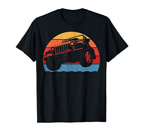 Retro Vintage Jeeps Shirt Great 4x4 70s Distressed Off Road from Retro Vintage Jeeps