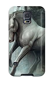 Hard Plastic Galaxy S5 Case Back Cover,hot Unicorn Horse Magical Animal Case At Perfect Diy