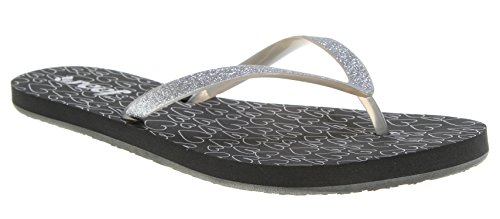 Reef Women's Stargazer Prints Sandal,Grey Hearts,6 M US