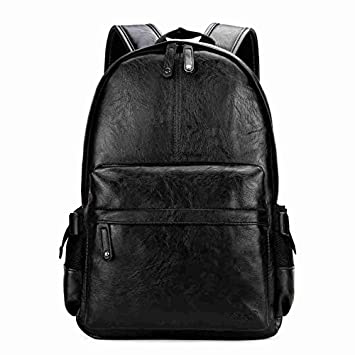 QWKZH Sacs à Dos Preppy Style School Backpack Bag for College Simple Design Men Casual Daypacks Mochila Male New