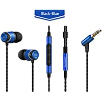 Gain BONUS Value Pack! SoundMAGIC E10C BLUE, Noise Isolating In-Ear Headphones with Microphone, Volume Control and... wholesale