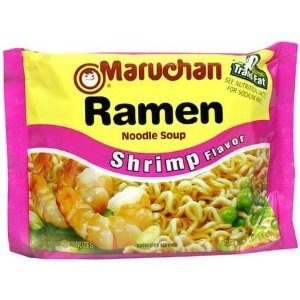 Noodle Shrimp Soup (Maruchan Ramen Shrimp Flavor Soup - 12 Pack)