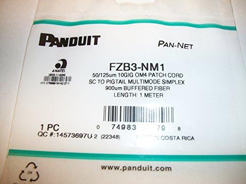 SC TO PIGTAIL MULTIMODE SIMPLEX 50/125um 10 GIG OM4 PATCH CORD