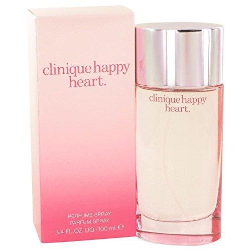 Happy Heart by Clinique Eau De Parfum Spray 3.4 oz for Women - Clinique Happy Heart Perfume Spray