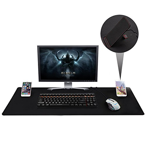 Large Extended Gaming Mouse Pad XXL, Vogek Thick Large 34